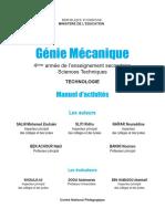 Manuel de Cours Génie Mécanique