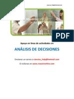 Análisis de decisiones 1