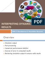 TM4112 - 13 Interpreting Dynamic Model