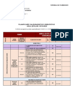 Planificare orientativa religie 2019-2020 clasa 1