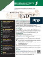 2017RRI Phd Poster