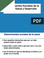 Determinantes Sociales , Salud y Desarrollo