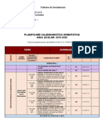 Planificare orientativa religie 2019-2020 clasa 2