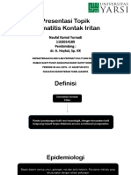 Presentasi Tori Dermatitis Kontak Iritan