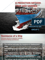 RESISTANCE OF SHIP