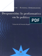 Judith Butler y Athena Athanasiou - Desposesión - lo performativo en lo político.pdf