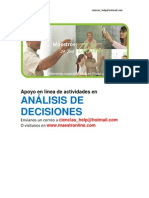Analisis de Decisiones II