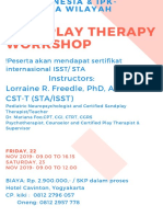 Draft Flyer Sandplay Therapy