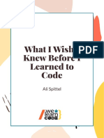 What I Wish I Knew Before Learning to Code - Ali Spittel