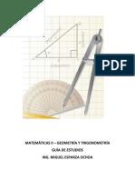 Guía de Geometría y Trigonometría 2018