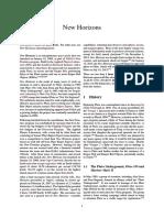 New Horizons pdf