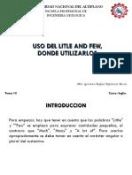 Tema 13 Uso del litle y few.pdf