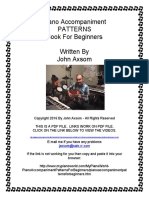 Piano Accompaniment Patterns for Beginners