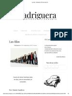 Las filas - Madriguera Revista Literaria.pdf