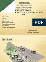 Bike Lane Along Magallanes to Ayala Avenue in Makati City