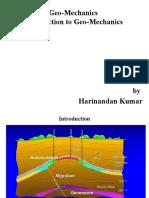 Introduction to geomechanics
