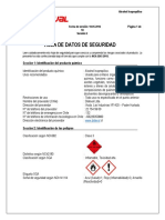 HDS Alcohol Isopropilico Compressed