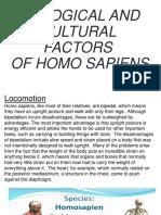 Biological and Cultural Factors 1