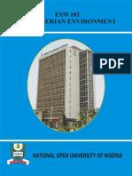 ESM 102 The Nigerian Envt.pdf
