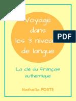 Guide Voyage Dans 3 Niveaux de Langue v2 Nathalie Fle