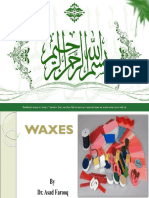 Af Chapter 4 Waxes by Dr Asad Farooq