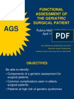 4 Functional Assessment of the Geriatric Surgical Patient (1)