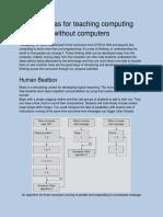 5 Ideas for Teaching Computing