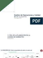 Gestion de Operaciones y Calidad S1 - S2