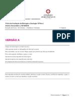 Ficha de Avaliação Sumativa 10º n.1