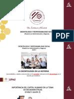 Unidad 1 ( Sesión 2) Importancia Del Capital Humano en La Toma de Decisiones