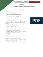 MATEMATICAS 1.3 Operaciones de Monomios y Polinómios (Adición, Resta, Multiplicación y División)