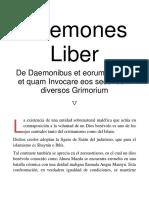 Daemones Liber