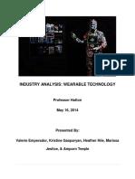 Wearable Industry