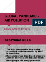Global Pandemic - Air Pollution Final