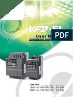 Manual VFD-EL delta