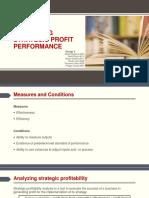 Group 4 Evaluating Strategic Profit Performance SI