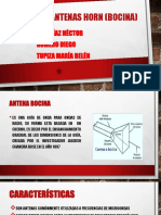 Antenas Horn Bocina