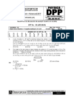 Class XI Physics DPP Set (32) - Previous Chaps - Waves