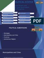 Philippine Political System
