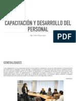 CAPACITACIÓN Y DESARROLLO DE PERSONAS