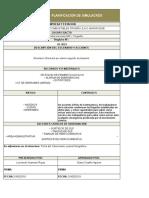 Planificacion de Simulacros-SAN ROQUE