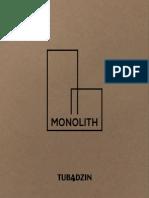 Katalog Monolith - Tubądzin