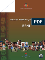 CENSO NACIONAL AGROPECUARIO BOLIVIA-BENI