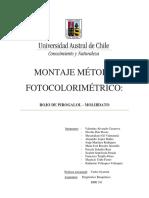 Montaje Método Fotocolorimétrico Grupo 1 Oficial