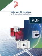 Telergon Pvswitch 32A Data Sheet