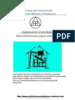 Guía Para El Home Studio 2019.01