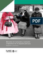Estudios de variacón y contacto linguistico en el español peruano.pdf