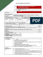 Psihologie Medicală Şi Ştiinţele Comport. Sociologie Franceză