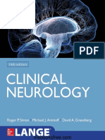 Roger P. Simon, Michael J. Aminoff, David A. Greenberg - Clinical Neurology (LANGE)-McGraw-Hill Education _ Medical (2018).pdf