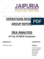 Or Group Report